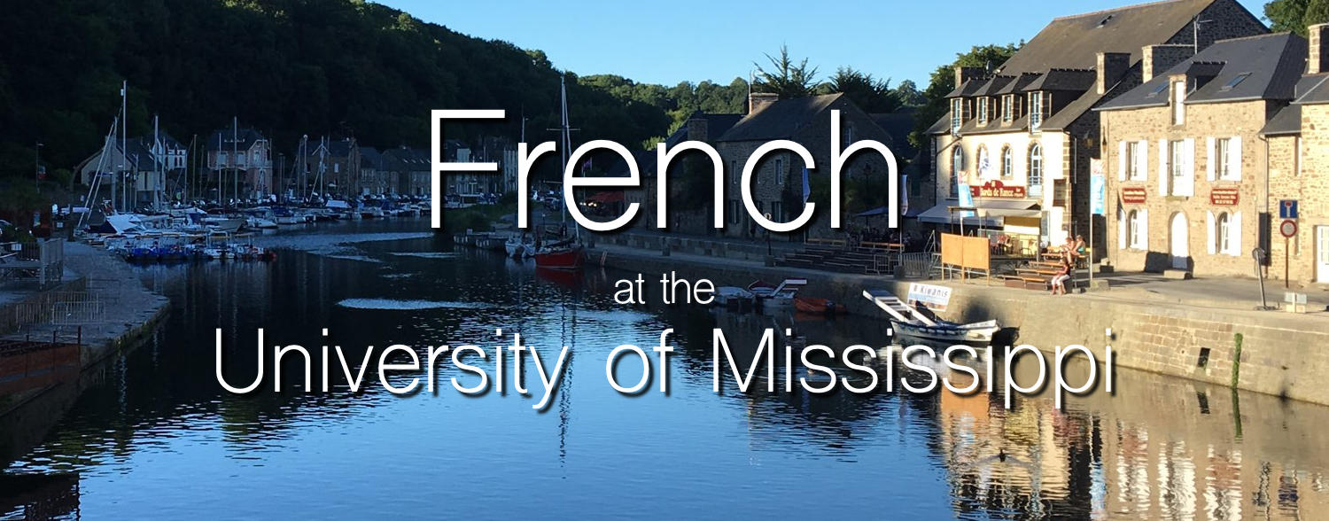 French at the University of Mississippi