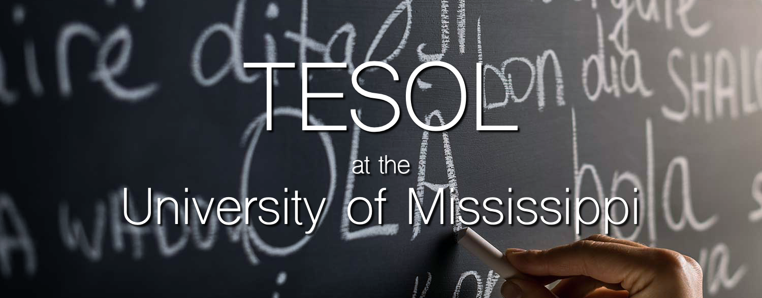 TESOL at the University of Mississippi